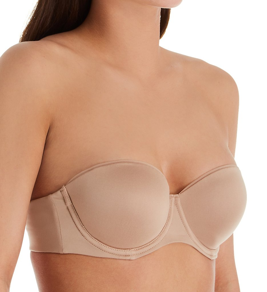 Warner's RJ6331A Elements of Bliss Underwire Contour Strapless Bra (Toasted Almond)