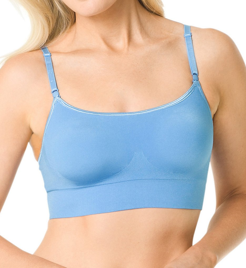 Warner's RM0911A Easy Does It No Dig Wirefree Contour Crop Top Bra