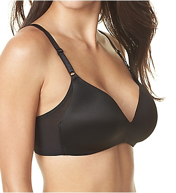 Warner's No Side Effects Wire-Free Contour Bra w/ Mesh Wing