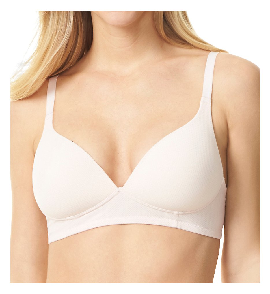 Warner's RM5941A Breathe Freely Wire-Free Contour Bra (Rosewater)