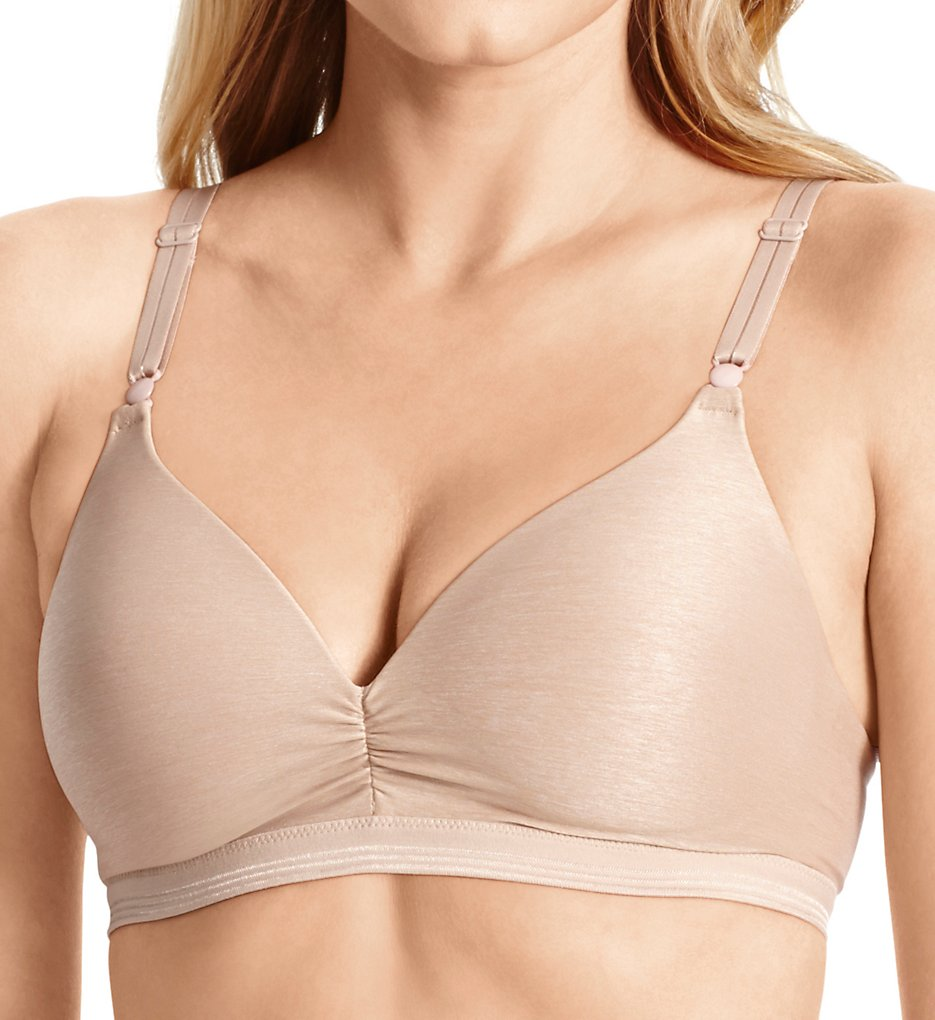 Warners : Warners RN3281A Play it Cool Wirefree Contour Bra with Lift (Toasted Almond 34A)