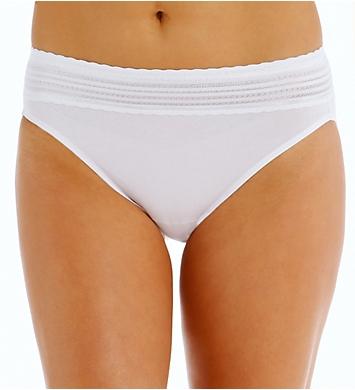 Details about  /Warner/'s No Pinch Cotton Hi Cut Panty Style RT2091P Color Beige Size 5
