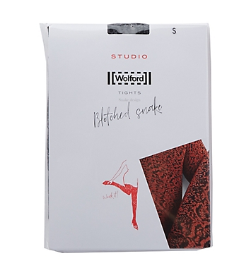 Wolford Blotched Snake Tights