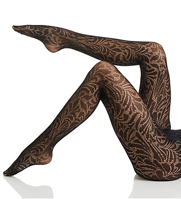 Wolford Iris Floral Design Tights