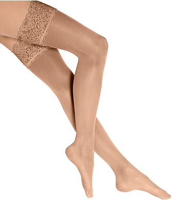 77087021289 Wolford Satin Touch 20 Stay-Ups 21223 - Wolford Hosiery