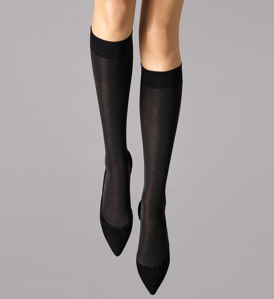 Wolford Velvet De Luxe 50 Knee Highs