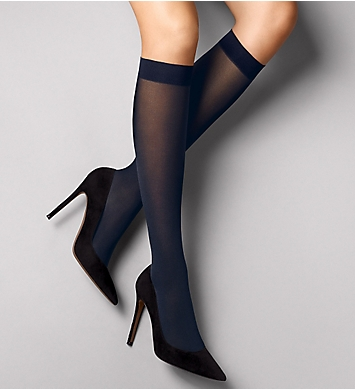 Wolford Satin Opaque Nature Knee Highs