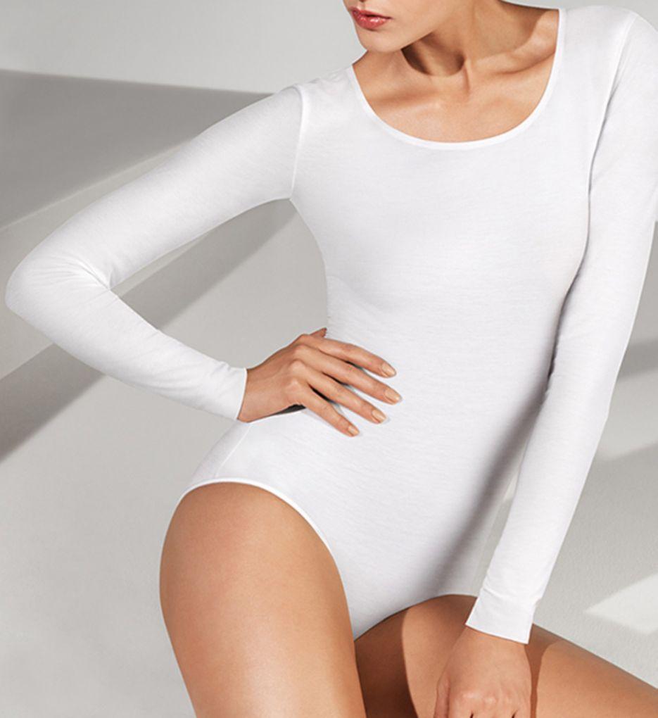 Wolford Pure Longsleeve Bodysuit