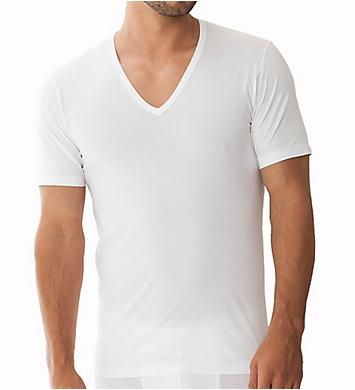 Zimmerli Pure Comfort Deep V-Neck T-Shirt