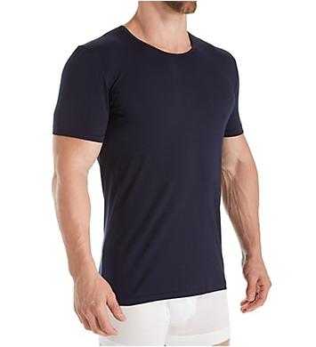 Zimmerli Pure Comfort Cotton Stretch Crew Neck T-Shirt