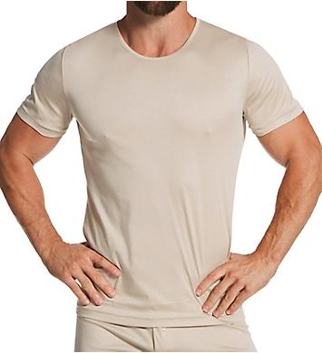 Zimmerli Sea Island Luxury Cotton Crew Neck T-Shirt