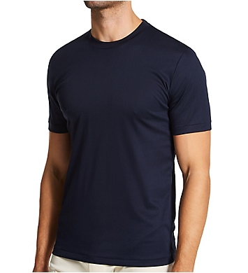 Zimmerli Sea Island Luxury Cotton Crew Neck T-Shirt