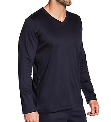Zimmerli Supreme Green Cotton Long Sleeve Pajama Shirt