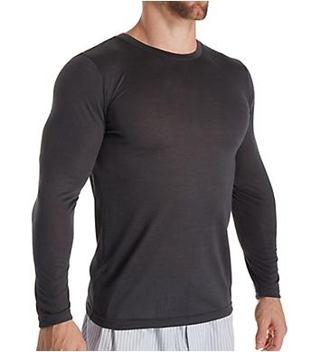 Zimmerli Poetic Botanicals Silk Blend Long sleeve Shirt