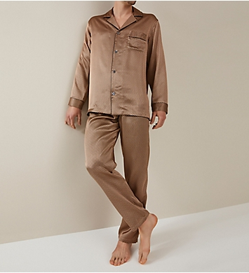 Zimmerli 100% Silk Long Sleeve Pajama Set