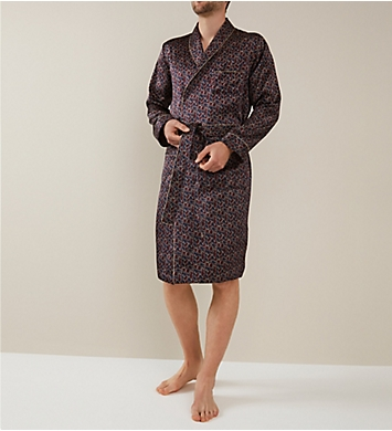 Zimmerli 100% Silk Long Sleeve Robe